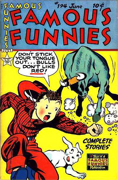 Cover for Famous Funnies (Eastern Color, 1934 series) #194