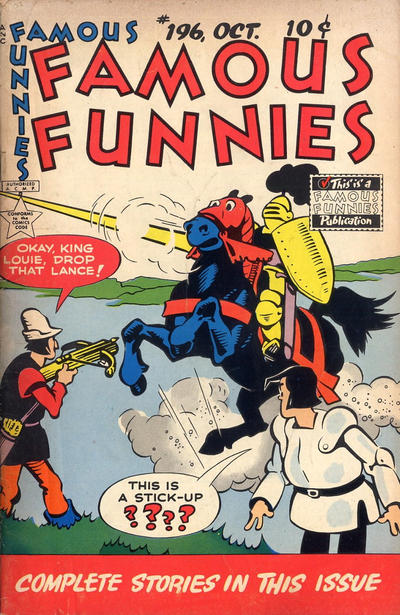 Cover for Famous Funnies (Eastern Color, 1934 series) #196