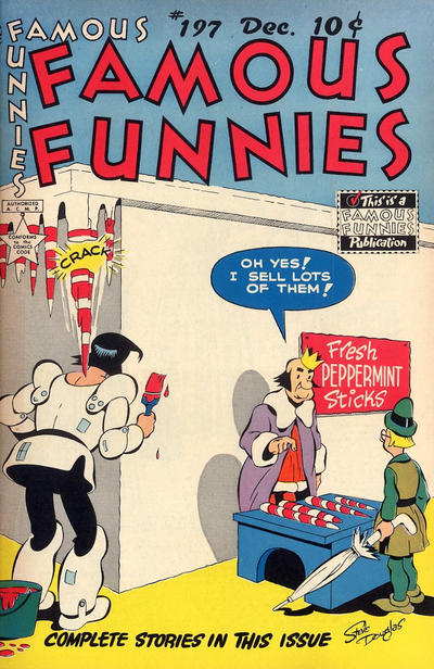 Cover for Famous Funnies (Eastern Color, 1934 series) #197