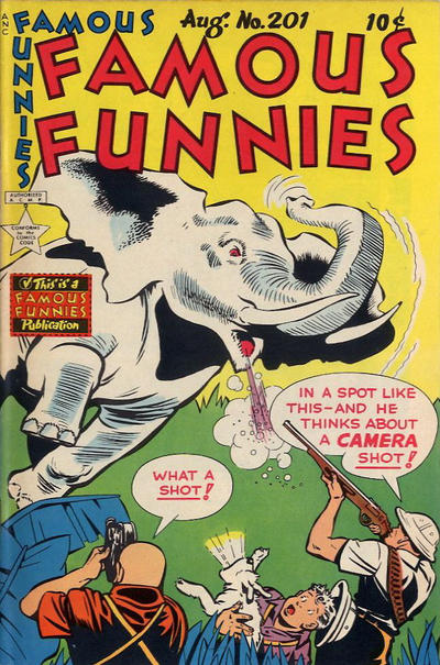 Cover for Famous Funnies (Eastern Color, 1934 series) #201