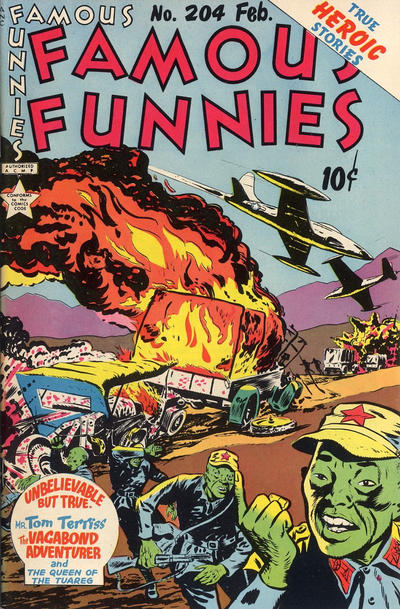 Cover for Famous Funnies (Eastern Color, 1934 series) #204