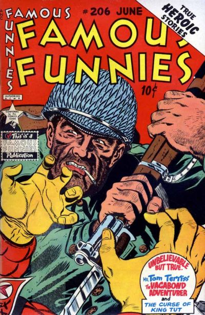 Cover for Famous Funnies (Eastern Color, 1934 series) #206