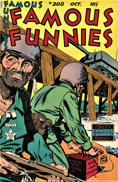 Cover for Famous Funnies (Eastern Color, 1934 series) #208