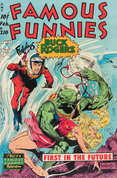Cover for Famous Funnies (Eastern Color, 1934 series) #210