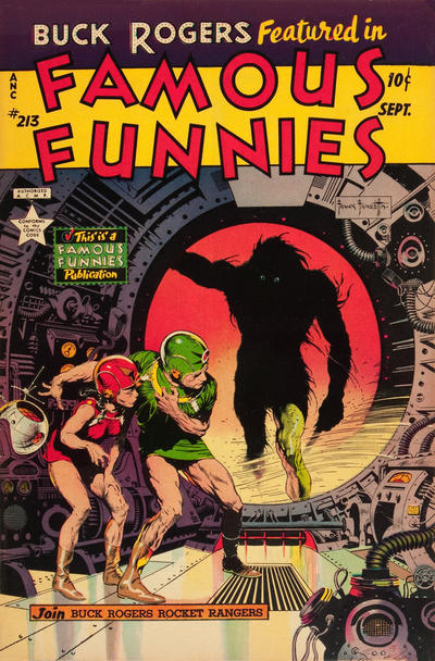 Cover for Famous Funnies (Eastern Color, 1934 series) #213