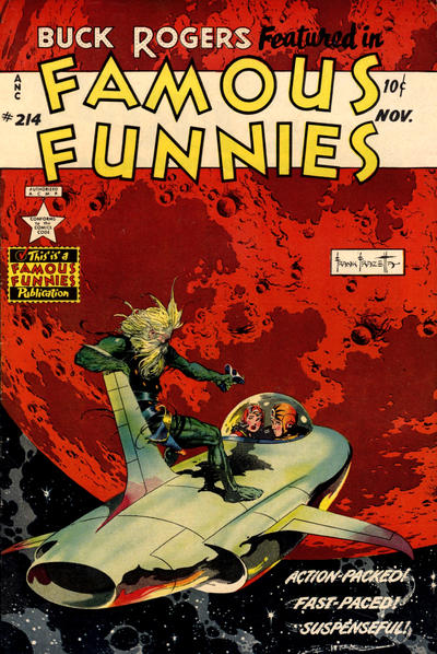 Cover for Famous Funnies (Eastern Color, 1934 series) #214