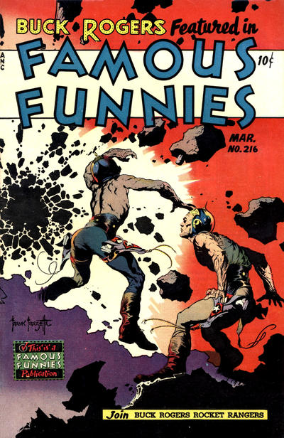 Cover for Famous Funnies (Eastern Color, 1934 series) #216