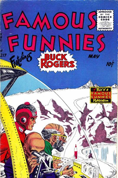 Cover for Famous Funnies (Eastern Color, 1934 series) #217