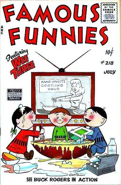 Cover for Famous Funnies (Eastern Color, 1934 series) #218