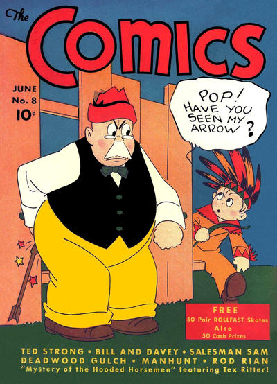 Cover for The Comics (Dell, 1937 series) #8