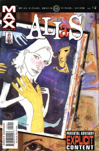 Cover for Alias (Marvel, 2001 series) #12