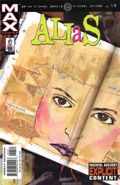 Cover for Alias (Marvel, 2001 series) #13