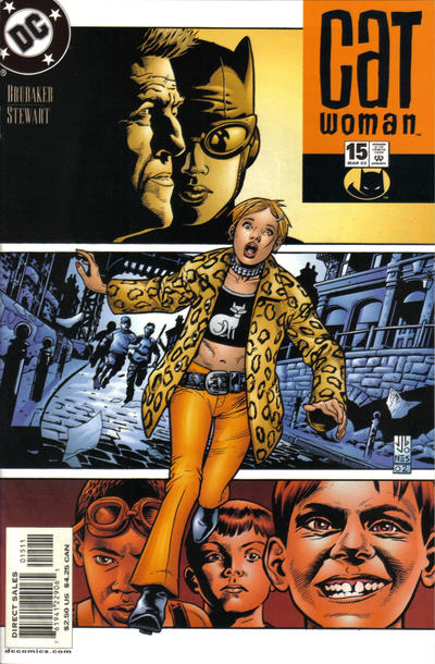 Cover for Catwoman (DC, 2002 series) #15