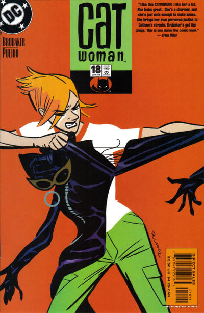 Cover for Catwoman (DC, 2002 series) #18
