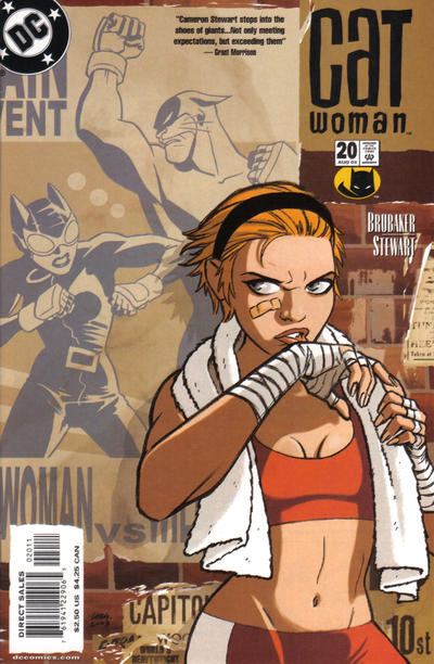 Cover for Catwoman (DC, 2002 series) #20