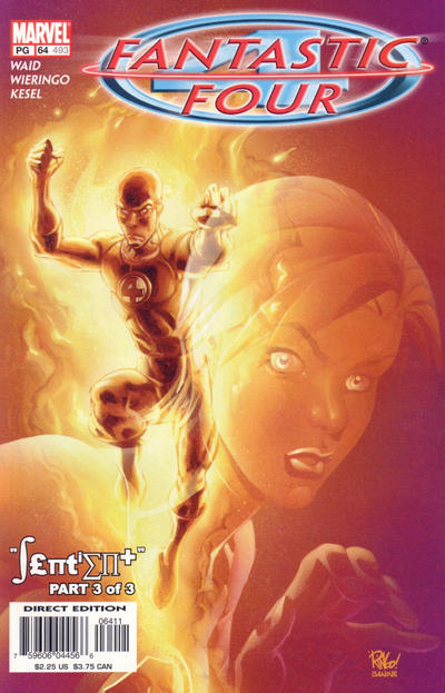 Cover for Fantastic Four (Marvel, 1998 series) #64 (493) [Direct Edition]