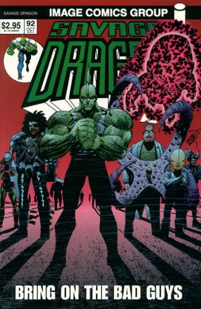 Cover for Savage Dragon (Image, 1993 series) #92