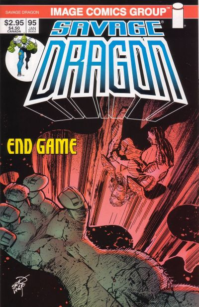 Cover for Savage Dragon (Image, 1993 series) #95