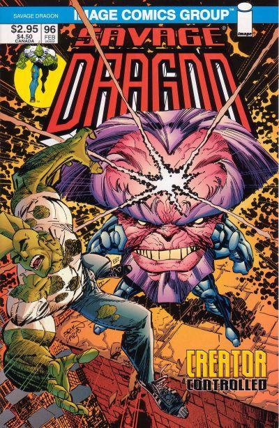 Cover for Savage Dragon (Image, 1993 series) #96