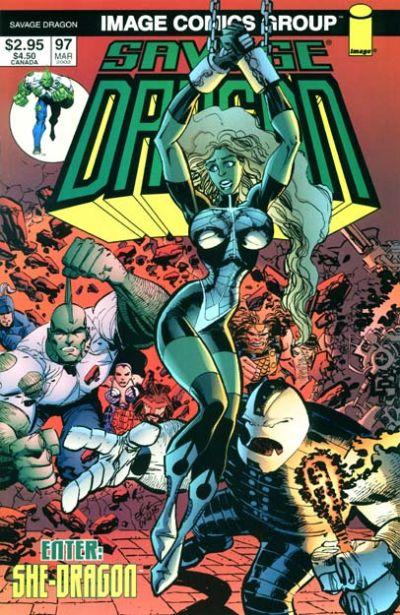 Cover for Savage Dragon (Image, 1993 series) #97