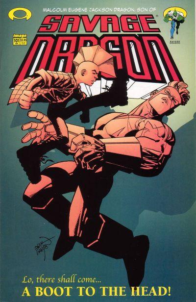 Cover for Savage Dragon (Image, 1993 series) #101
