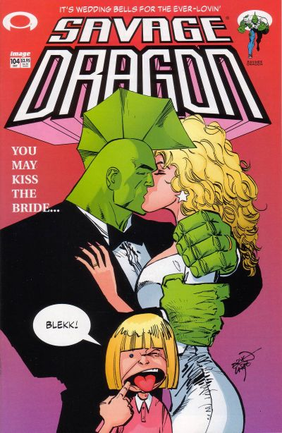 Cover for Savage Dragon (Image, 1993 series) #104