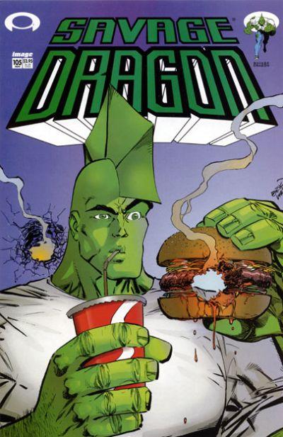 Cover for Savage Dragon (Image, 1993 series) #105
