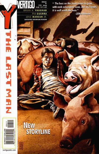 Cover for Y: The Last Man (DC, 2002 series) #6