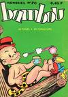 Cover for Bambou (Impéria, 1958 series) #70