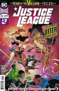 Cover Thumbnail for Justice League (DC, 2018 series) #25 [Jorge Jimenez Cover]