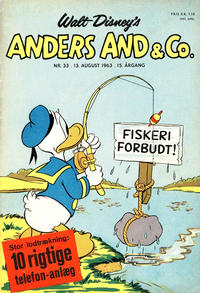 Cover Thumbnail for Anders And & Co. (Egmont, 1949 series) #33/1963