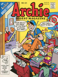 Cover Thumbnail for Archie Comics Digest (Archie, 1973 series) #121 [Direct]