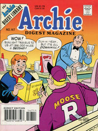 Cover Thumbnail for Archie Comics Digest (Archie, 1973 series) #147 [Direct Edition]