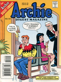 Cover Thumbnail for Archie Comics Digest (Archie, 1973 series) #151 [Direct Edition]