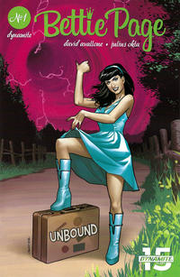 Cover for Bettie Page Unbound (Dynamite Entertainment, 2019 series) #1 [Cover E Photo]