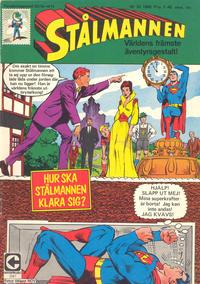 Cover Thumbnail for Stålmannen (Centerförlaget, 1949 series) #22/1968