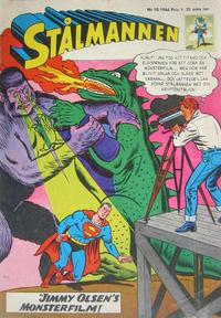 Cover Thumbnail for Stålmannen (Centerförlaget, 1949 series) #10/1966
