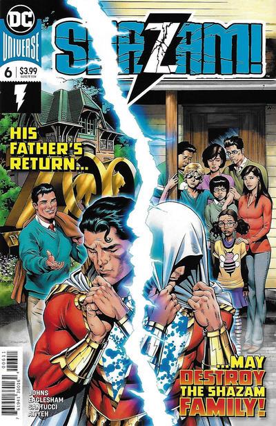 Cover for Shazam! (DC, 2019 series) #6 [Dale Eaglesham Cover]