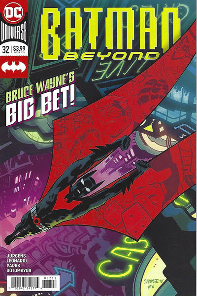 Cover for Batman Beyond (DC, 2016 series) #32