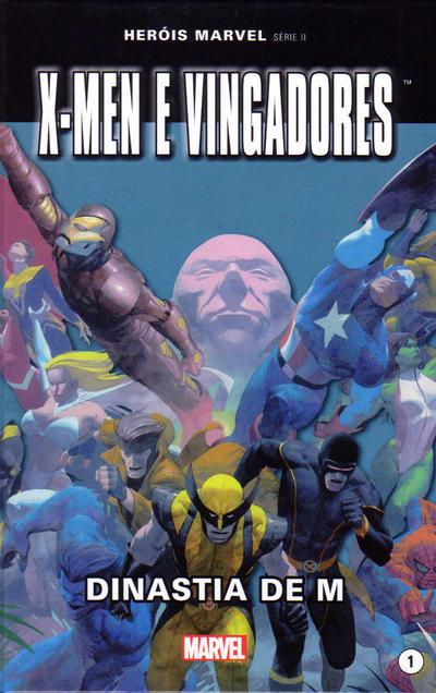 Cover for Marvel Série II (Levoir, 2012 series) #1 - X-men e Vingadores: Dinastia de M