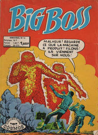 Cover Thumbnail for Big Boss (Arédit-Artima, 1970 series) #16
