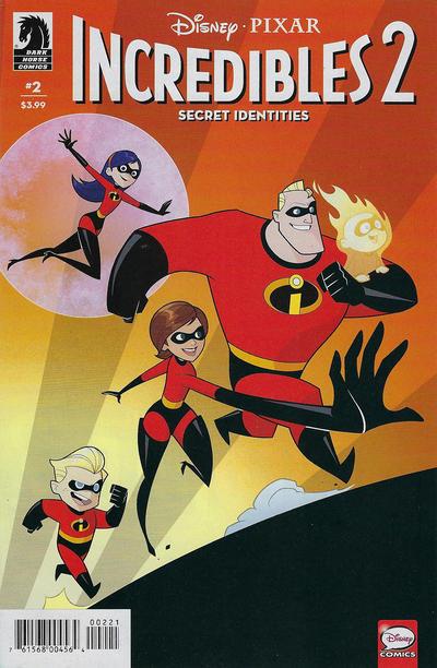 Cover for Incredibles 2: Secret Identities (Dark Horse, 2019 series) #2 [Jean Claudio Vinci Cover]