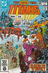 Cover for The New Teen Titans (DC, 1980 series) #15 [Direct]