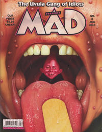 Cover Thumbnail for Mad (EC, 2018 series) #8