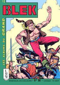 Cover Thumbnail for Blek (Editions Lug, 1963 series) #12