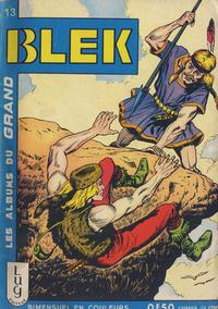 Cover Thumbnail for Blek (Editions Lug, 1963 series) #13