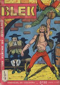 Cover Thumbnail for Blek (Editions Lug, 1963 series) #18