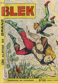 Cover Thumbnail for Blek (Editions Lug, 1963 series) #21