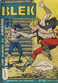 Cover Thumbnail for Blek (Editions Lug, 1963 series) #22