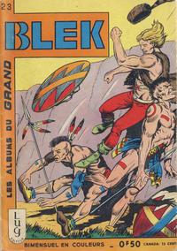 Cover Thumbnail for Blek (Editions Lug, 1963 series) #23
